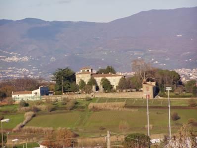 Panorama su Villa La Magia