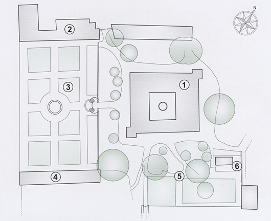 Villa La Magia – Plan [click on the image to enlarge]